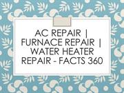 AC Repair | Furnace Repair | Water Heater Repair - Facts 360