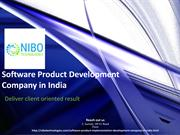 Software Product Development,Software Product Development Company in I