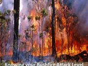 Knowing your Bushfire Attack Level