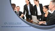 Chartered Accountant Firm in NCR