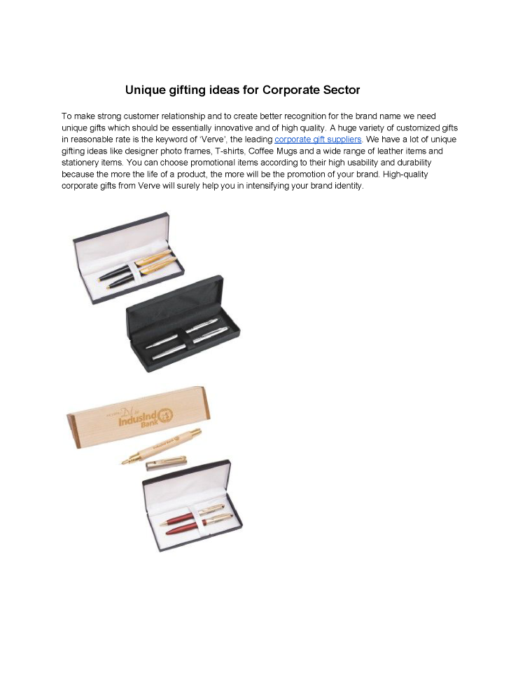 unique corporate gifts ideas executive corporate gifts authorstream
