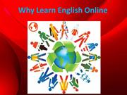 Why Learn English Online