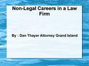 Dan Thayer Attorney Grand Island : Understands that while Lawyers Make