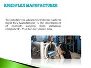 Flex Circuit Manufacturer