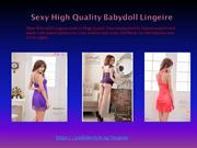 High Quality Babydoll Lingerie