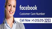 Contact Facebook Support 315-215-3253