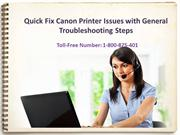 Canon Technical Printer Related issue