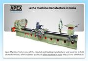 Heavy Duty Lathe machine manufacture in India