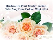 10 handcrafted pearl jewelry trends to take