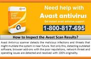 How to Inspect the Avast Scan Results?