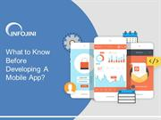 8 Important Tips for Developing A Mobile App