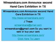 Second Hand Cars Exhibition in TX