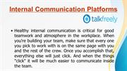 Talk Freely- Internal communication platforms by TalkFreely
