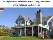 Things to Consider While Building a Custom Home