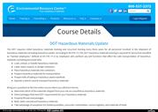 DOT Hazardous Online Training | DOT Hazardous Materials Coure Update