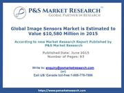 Image Sensors Market Size, Share, Trends, Demand and Growth