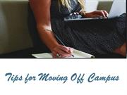 Tips for Moving Off Campus