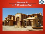 A wide range of high quality home construction services