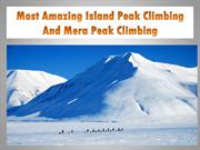 Most Amazing Island Peak Climbing And Mera Peak Climbing