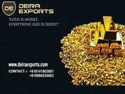 Gold Bar Manufacturers and Exports in India by Deira Exports