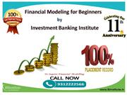 Learn  Financial modeling  courses  by IB Institute In Delhi