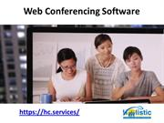 Web Conferencing Software - Holistic Communications