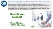 QuickBooks Support for streamlining the process of accounting