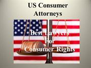 Us consumer Attorneys - Best Lawyers for Consumer Protection
