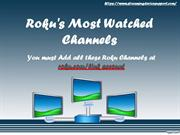 Www.roku.com/link:-Roku Most Watched Channels