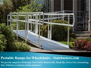 Portable Ramps for Wheelchairs - Stairbusters