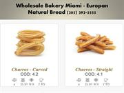 Bread Distributors Miami FL