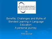 E Learning Benefits Challenges and Myths