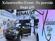 Xclusiveoffer Event -To provide huge gift