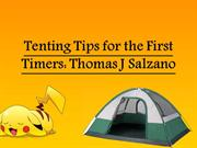Tenting Tips for the First Timers Thomas J Salzano