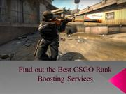 Find out the Best CSGO Rank Boosting Services