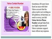 Yahoo Contact Service Phone Number