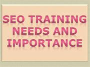 SEO Training Needs and Importance