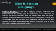 Fashion Designing Courses In Pune