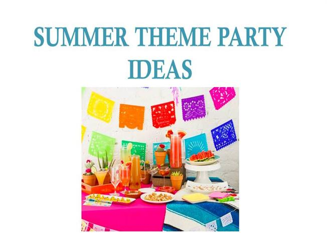 pastel theme party ideas for summer authorstream
