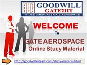 GATE AEROSPACE Online Study Material
