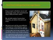 Professional Roof And Sidings Hail Damage Repair and Insurance Claims