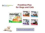 Frontline Plus for Dogs and Cats – PetCareSupplies