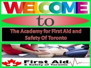 Join Standard First Aid Training Programs at Reasonable prices