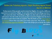 Online Air Ticketing Agents, Flight Booking Agent,Travel Agents in Moh