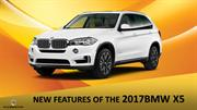 NEW FEATURES OF THE 2017BMW X5