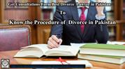Legal divorce procedure in Pakistan
