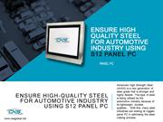 Ensure-High-Quality-Steel-For-Automotive-Industry-Using-S12-Panel-PC