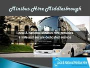 Affordable Minibus Hire Service Middlesbrough