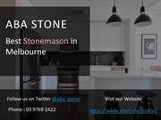 Reconstituted Stone Benchtops - ABA Stone