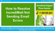 How to Resolve IncrediMail Not Sending Emails